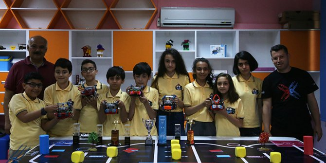 Adanalı robotik öğrencilerinin hedefi dünya şampiyonluğu