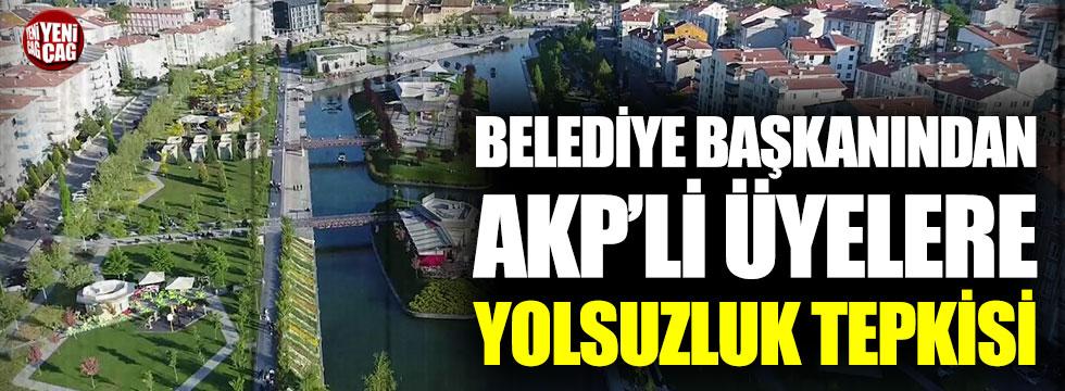 Kırşehir Belediye Başkanı'ndan AKP'li üyelere yolsuzluk tepkisi