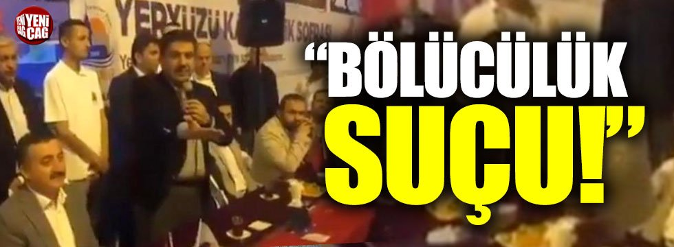 """Trabzonlu derneklerden Tevfik Göksu'ya tepki: """"Bölücülük suçu"""""""