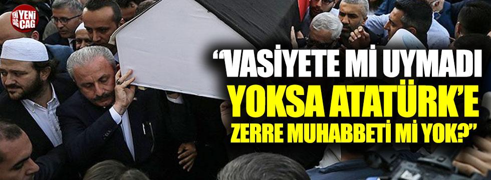 TBMM Başkanı Şentop'a 'Mısıroğlu' tepkisi