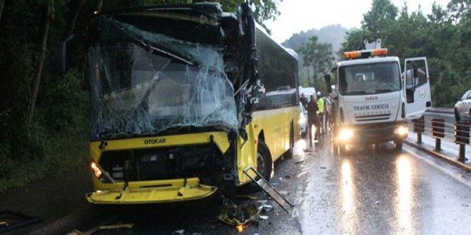 Sarıyer'de zincirleme trafik kazası