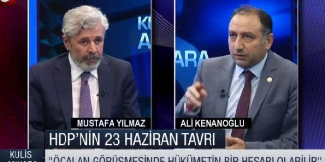 """HDP Milletvekili açıkladı: """"AKP ile görüşüyoruz"""""""