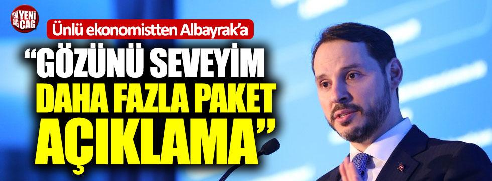 """Murat Muratoğlu'ndan Albayrak'a: """"Gözünü seveyimdaha fazla paket açıklama"""""""
