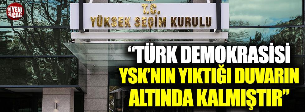 DP Başkanı Uysal'dan YSK'nın gerekçeli kararına sert tepki