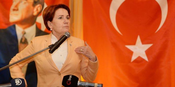 """Akşener Ankara'da konuştu: """"Bir kere de delikanlı olun be"""""""
