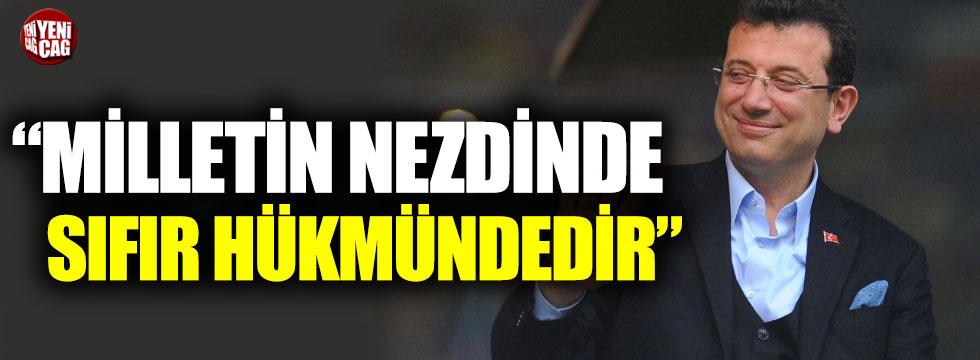 """İmamoğlu: """"Gerekçeli karar milletin nezdinde sıfır hükmündedir"""""""