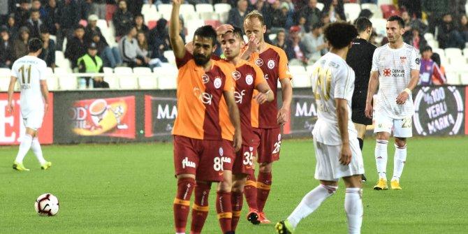 Sivasspor-Galatasaray 4-3 (Maç özeti)