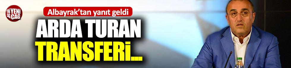 Abdurrahim Albayrak'tan Arda Turan iddialarına yanıt