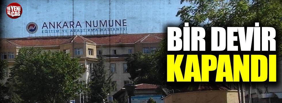 Ankara Numune Hastanesi kapandı