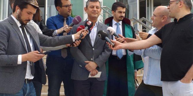CHP'li Özgür Özel hakim karşısına çıktı