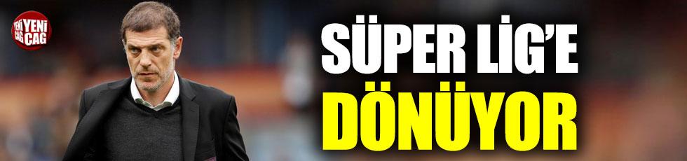 Slaven Bilic Süper Lig'e dönüyor