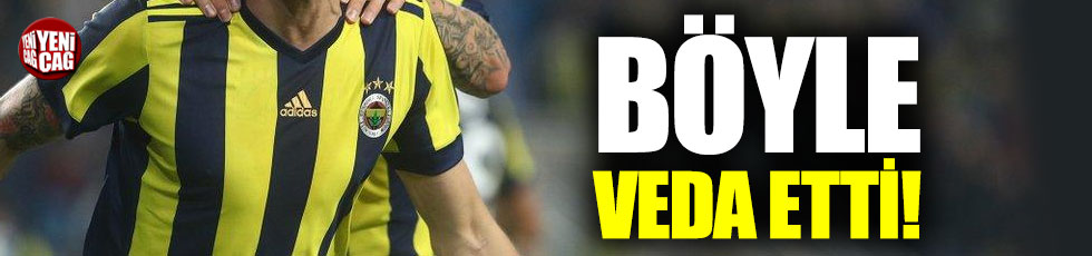 Neustadter'den Fenerbahçe'ye veda