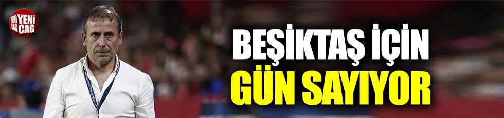 Beşiktaş Abdullah Avcı için gün sayıyor