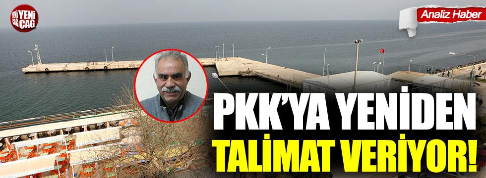 PKK'ya yeniden talimat veriyor