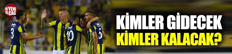 Fenerbahçe'de kadro yeniden kuruluyor