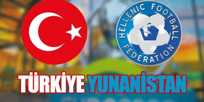 Türkiye Yunanistan hazırlık maçı saat kaçta hangi kanalda?