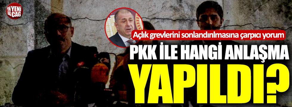"""Özdağ: """"PKK ile hangi anlaşma yapıldı?"""""""