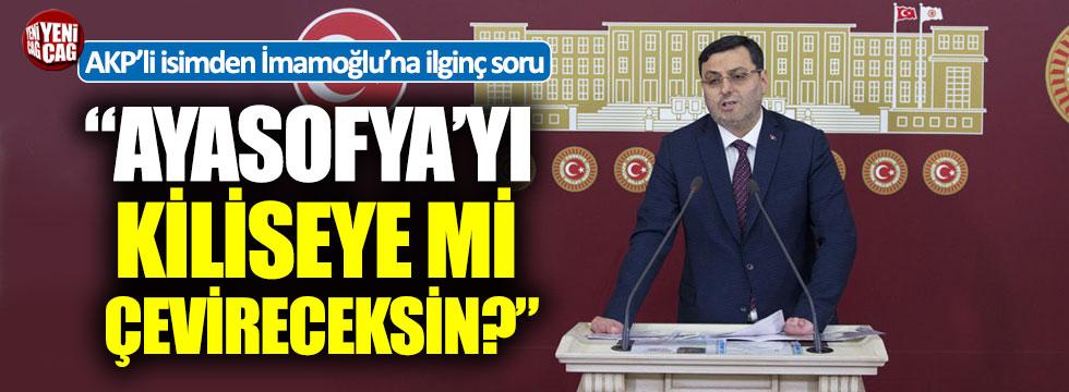 AKP'li Bayram'dan İmamoğlu'na ilginç soru