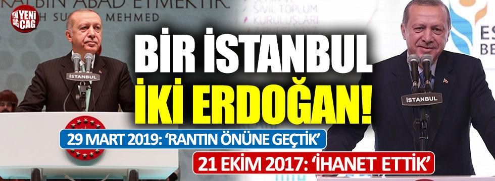 """Erdoğan: """"İstanbul'da rantçıları engelledik"""""""
