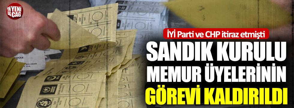 Beşiktaş'ta 35 sandık kurulu üyesinin görevi kaldırıldı