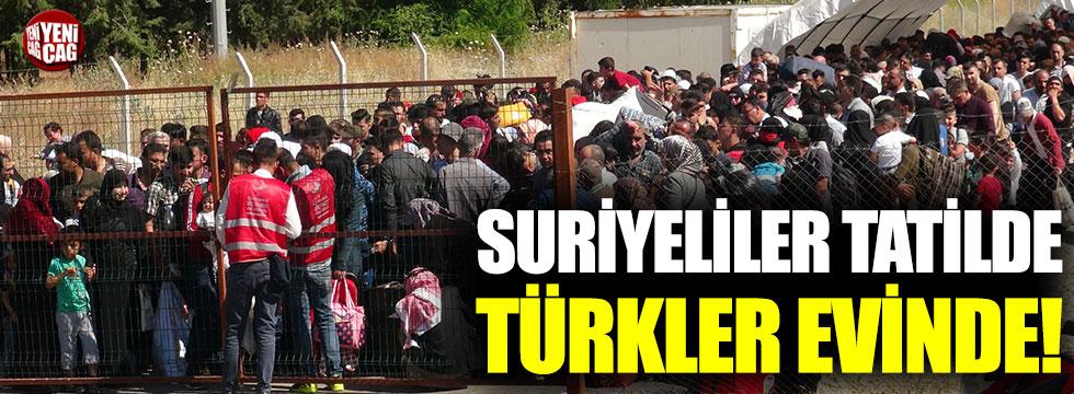Suriyeliler tatilde, Türkler evinde