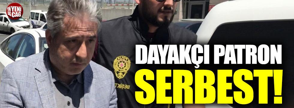Beşiktaş'ta kadın çalışanına saldıran patron serbest bırakıldı