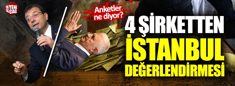 İşte son İstanbul anketi: İmamoğlu mu, Yıldırım mı?