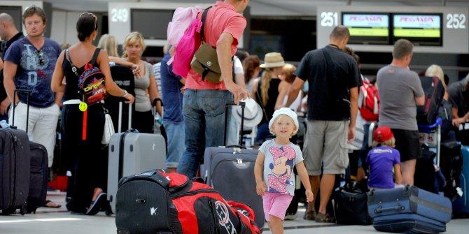 Turizmde ilk çeyrek rakamları açıklandı