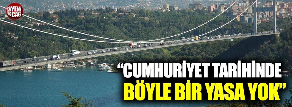 """Kuşoğlu: """"Cumhuriyet tarihinde böyle bir yasa yok"""""""