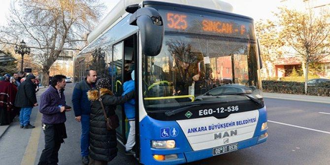 Bayramda Ankara'da ulaşım ücretsiz!