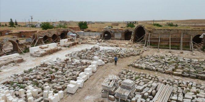 Harran'daki kervansaray tarihi misyonuna kavuşuyor