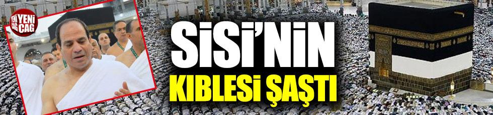 Sisi'nin Kabe fotoğrafı alay konusu oldu