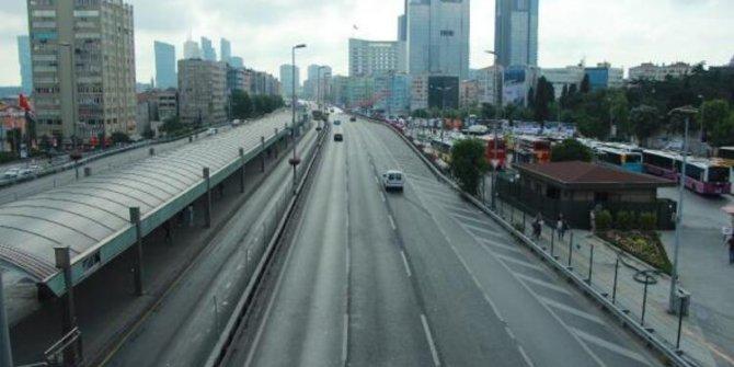 İstanbullu tatile çıktı yollar boş kaldı