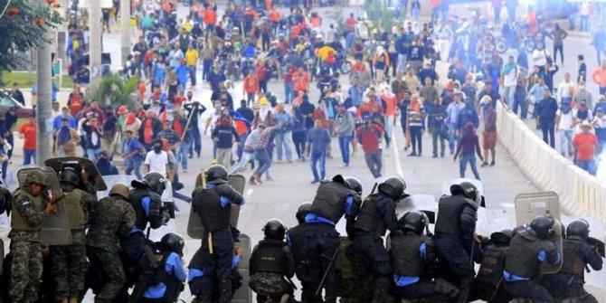 Honduras'ta büyük gerginlik!