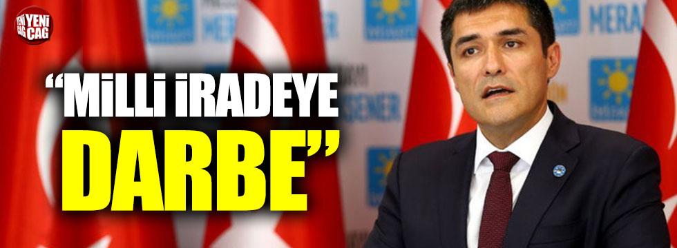 "İYİ Partili Kavuncu: ""Hukuk dışı süreci vatandaşa anlatacağız"""