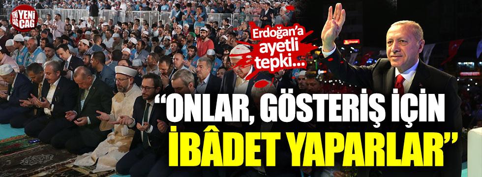 İYİ Parti'den ayetli Yenikapı tepkisi
