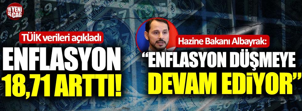 Berat Albayrak'tan ilginç enflasyon yorumu!