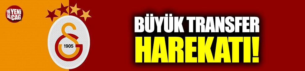 Galatasaray'da büyük transfer harekatı
