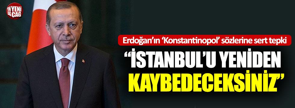 """Ahat Andican: """"İstanbul'u yeniden kaybedeceksiniz"""""""