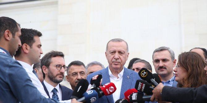 Erdoğan'dan YSK kararı değerlendirmesi