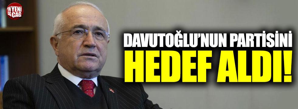 Cemil Çiçek Davutoğlu'nun yeni partisini hedef aldı