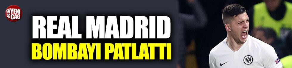 Real Madrid'den transferde ilk bomba