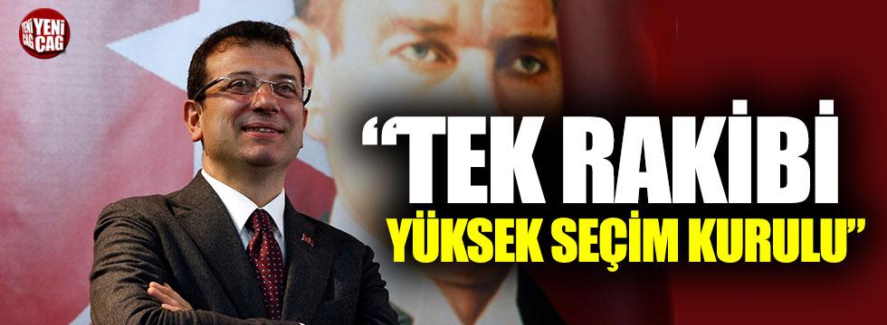 """Kemal Kılıçdaroğlu: """"İmamoğlu'nun rakibi YSK"""""""