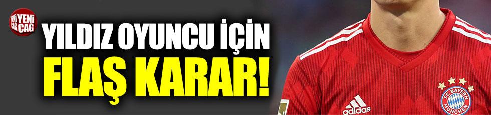 Bayern Münih'ten James Rodriguez kararı