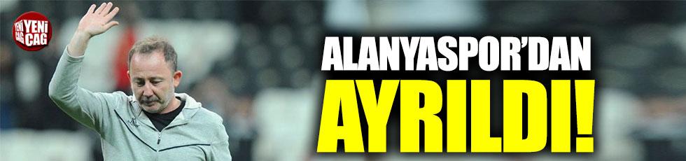 Alanyaspor'da Sergen Yalçın dönemi sona erdi