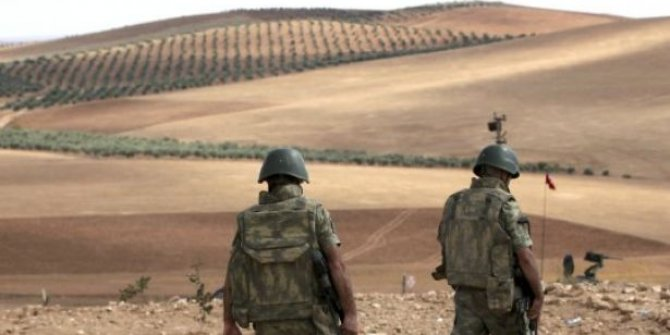 Suriye sınırında 3 IŞİD'li yakalandı