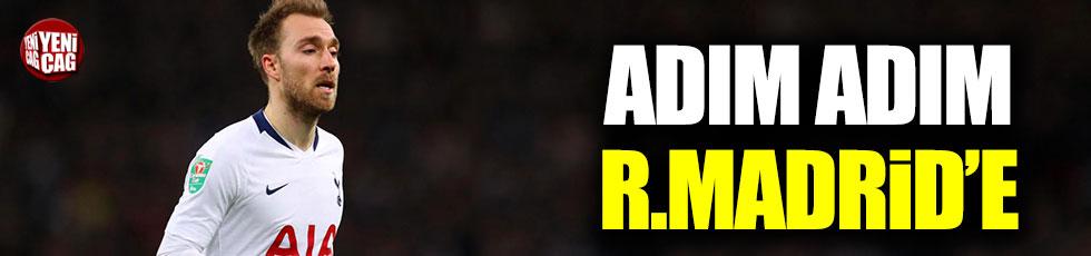 Eriksen adım adım Real Madrid'e