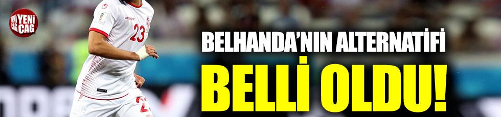 Galatasaray Belhanda'nın alternatifini buldu