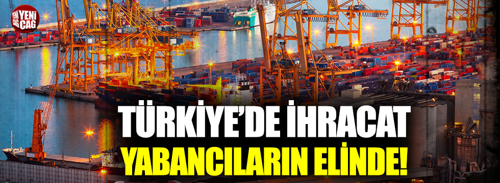 Turkey exports in the hands of foreigners – joluu