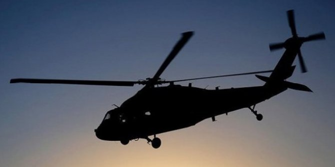 Gürcistan'da helikopter kazası